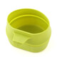 Wildo Fold-a-cup Bottle yellow/green